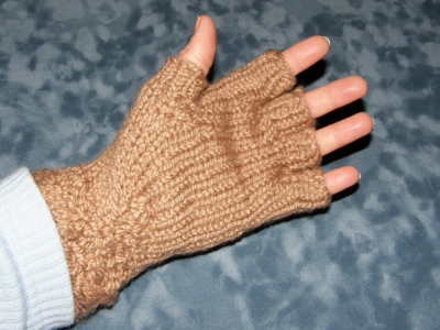Free Knitting Patterns Gloves Half Fingers : HALF FINGER CROCHET GLOVES PATTERN CROCHET PATTERNS