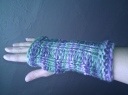 Josie's mix of Mitts for Meg and Girl Gauntlets!