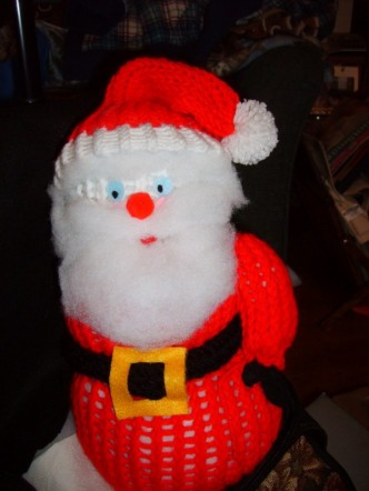 Judy's Santa from the Frosty Friend pattern! :)