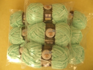 Nine Skeins of Velvet Spun yarn by Lion Brand!