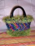 Katie's Bag...a variation of the Flat Bottom Basket Bag.