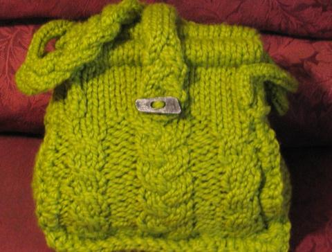 Robin McCoy's Braided Cables Bag...perfect!
