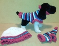 RUFF-els & Stripes Set!  Pattern featured in the Provo Craft Tutorial DVD!