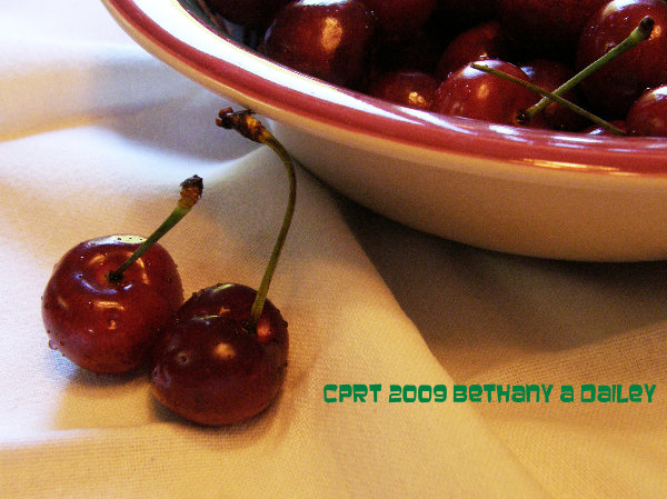 Cherries for Blog