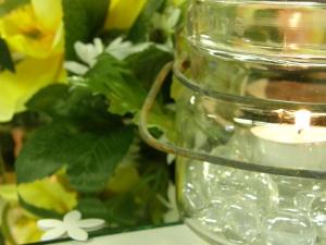 closeup of candle