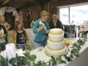 Katie finishing cake 2