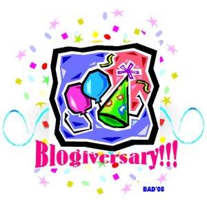 Blogiversary 08