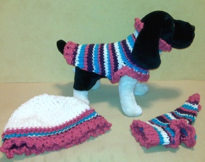 Ruff-Ruffles & Stripes Set!