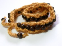 Sampe 2 Beaded Bangle Wraps by Bethany