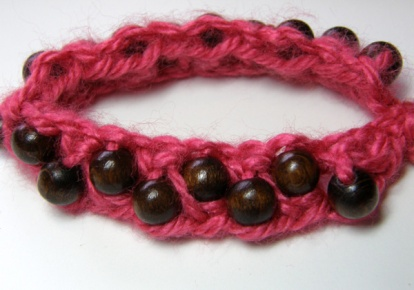 sample 1 Beaded Bangle Wraps by Bethany