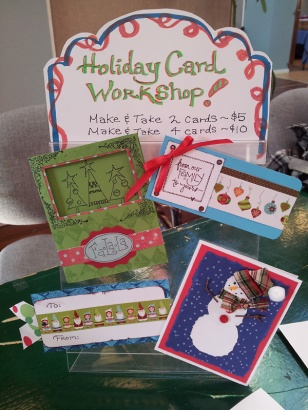 Holiday Cards for Workshop