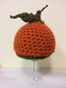 Punkin Hat- crocheted