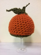 Punkin Hat- crocheted