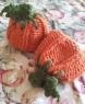 Loom Knit & Crocheted Punkin' Hats