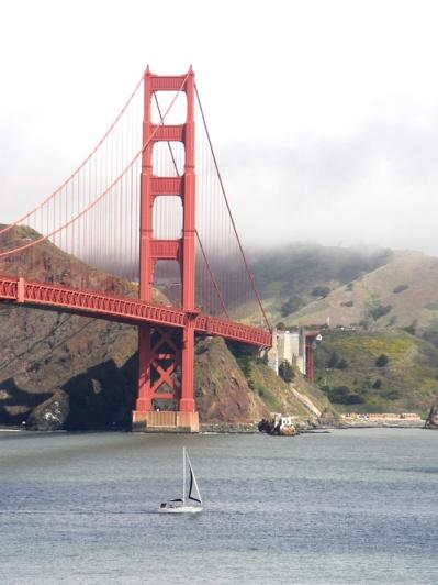 San Fransisco, Ca- Golden Gate Bridge! 2012