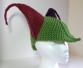 Thar Be Dragons! Jester hat for adults!