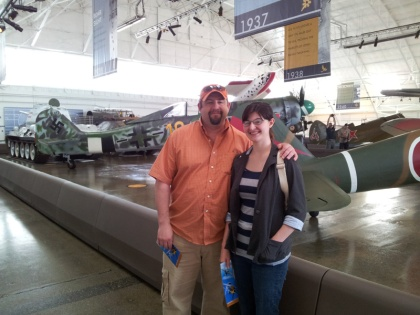 Visiting the Air Museum in Everett, WA 2012