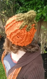 Slouchy Pumpkin Hat back sm